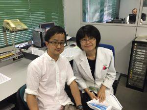 シープリン作者の3期生中村と伊東先生